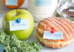 Come fare il conteggio delle calorie