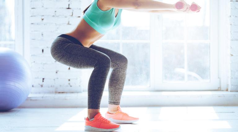 squat: gli esercizi contro la cellulite
